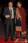 Rishi Kapoor and Neetu Singh during the Kush Sinha's wedding reception