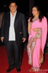 David Dhawan during the Kush Sinha's wedding reception