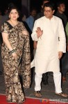 Sharmila Thackeray and Raj Thackeray during the Kush Sinha's wedding reception