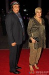 Ranjeet and Aloka Bedi during the Kush Sinha's wedding reception