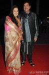 Poonam Sinha and Shatrughan Sinha during the Kush Sinha's wedding reception