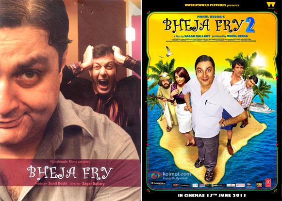 Bheja Fry (2007) and Bheja Fry 2 (2011) Movie Posters