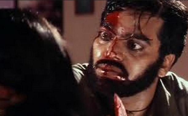 Ashutosh Rana as Gokul Pandit in a still from movie 'Dushman (1998)'