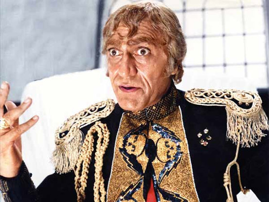 Amrish Puri as Mogambo in a still from movie 'Mr. India (1987)'