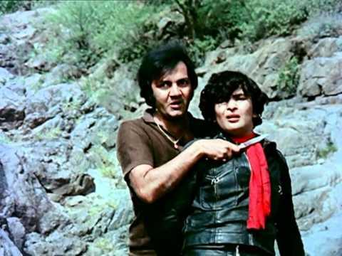 Prem Chopra as Prem Chopra in a still from movie 'Bobby (1973)'