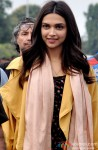 Deepika Padukone during the shooting of movie 'Tamasha' Pic 1