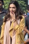 Deepika Padukone during the shooting of movie 'Tamasha' Pic 2
