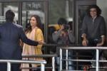 Deepika Padukone and Imtiaz Ali during the shooting of movie 'Tamasha'
