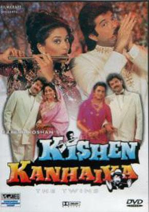 Kishen Kanhaiya (1990) Movie Poster