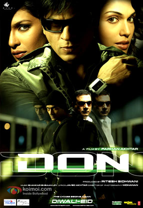 Don: The Chase Begins Again (2006) Movie Poster