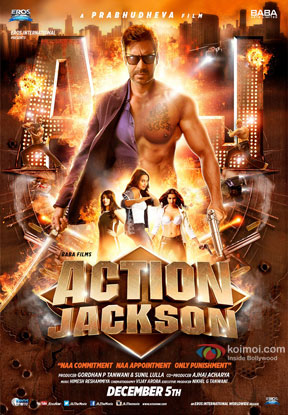 Action Jackson (2014) Movie Poster