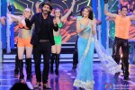 Arjun Rampal and Jacqueline Fernandez on the sets of Bigg Boss Season 8 Pic 1