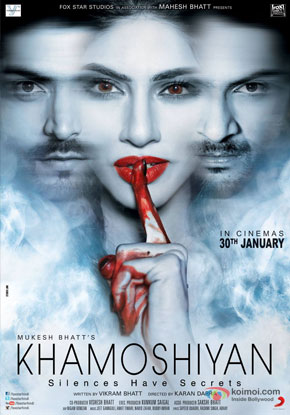 Khamoshiyan Movie Poster