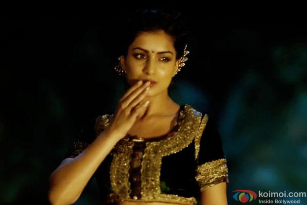Pallavi Sharda in a still from movie 'Hawaizaada'