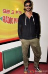 Arjun Rampal during the promotion of movie 'Roy' at Radio Mirchi Mumbai studio