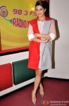 Jacqueline Fernandez during the promotion of movie 'Roy' at Radio Mirchi Mumbai studio