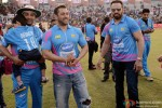 Sohail Khan and Salman Khan at a Celebrity Cricket League match Pic 2