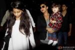 Suhana, Gauri Khan, AbRam and Aryan Return From Dubai