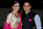 Soha Ali Khan and Kunal Khemmu during their Wedding Party & Reception Pic 1
