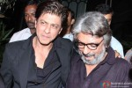 Shah Rukh Khan during the party hosted by Sanjay Leela Bhansali Pic 1