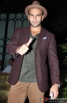 Ranveer Singh during the party hosted by Sanjay Leela Bhansali