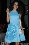 Kangana Ranaut during the party hosted by Sanjay Leela Bhansali