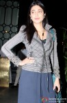Shruti Haasan during the party hosted by Sanjay Leela Bhansali
