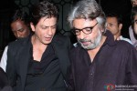 Shah Rukh Khan during the party hosted by Sanjay Leela Bhansali Pic 2