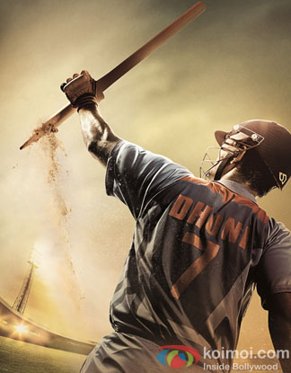 Sushant singh Rajput in a still from movie 'M.S.Dhoni – The untold story'