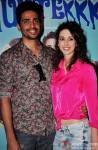 Gulshan Devaiah and Kalliroi Tziafeta during the trailer launch of 'Hunterrr'