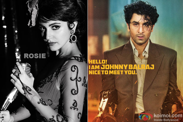 Anushka Sharma and Ranbir Kapoor in a still from movie 'Bombay Velvet'