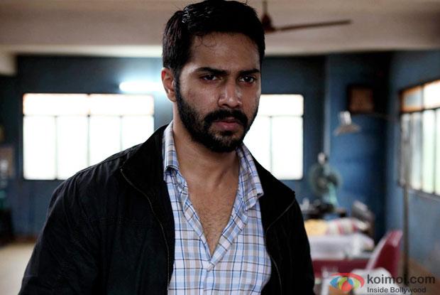 Varun Dhawan in a still from movie 'Badlapur'