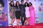 Sai Tamhankar, Radhika Apte, Gulshan Devaiah, Veera Saxena and Kriti Nakhwa during the Hunterrr movie's Grand music launch