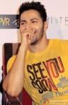 Varun Dhawan during the promotion of movie 'Badlapur' in New Delhi