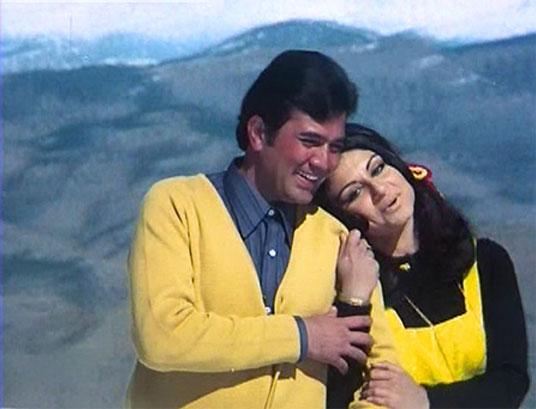 still from movie 'Daag: A Poem of Love (1973)'