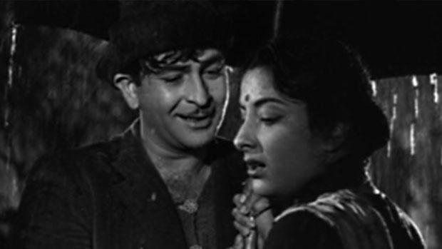 still from movie 'Shree 420 (1955)'