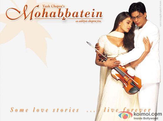 still from movie 'Mohabbatein (2000)'