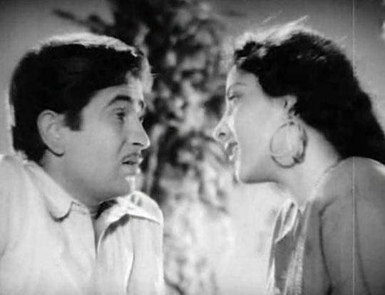 still from movie 'Barsaat (1949)'