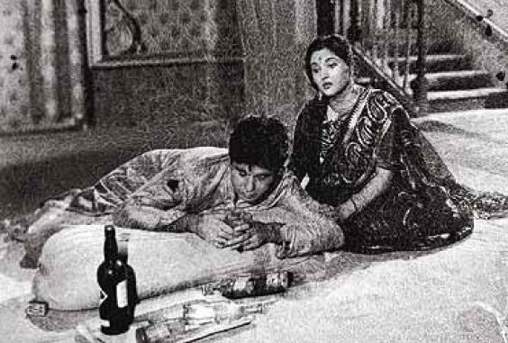 still from movie 'Devdas (1955)'