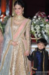 Divya Khosla Kumar and Ruhaan Kumar during the Hitesh Rahlan and Tulsi Kumar's Sangeet Ceremony