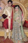 Hitesh Rahlan and Tulsi Kumar during their Sangeet Ceremony Pic 1