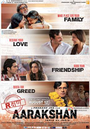 Aarakshan (2011) Movie Poster
