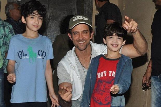Sussanne Roshan And Hrithik Roshan Kids - Hrehaan and Hredhaan