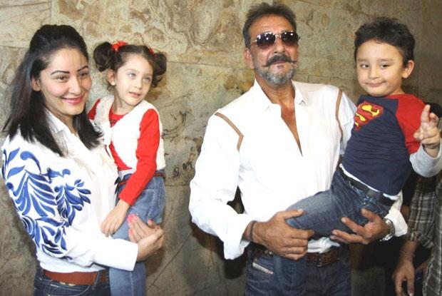 Manyatta Dutt And Sanjay Dutt Kids - Sharaan and Iqra