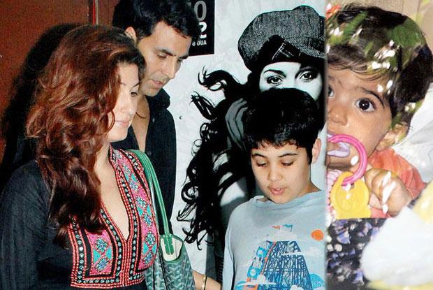 Twinkle Khanna And Akshay Kumar Kids - Aarav and Nitara