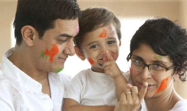 Kiran Rao And Aamir Khan Kids - Azad Rao Khan