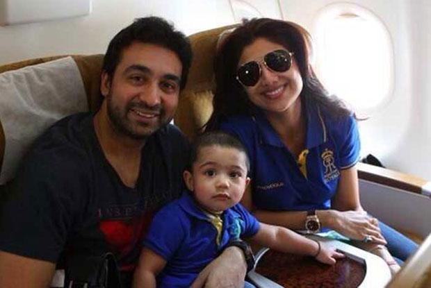 Shilpa Shetty And Raj Kundra Kids - Vivaan Raj Kundra