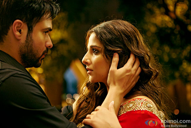 Emraan Hashmi and Vidya Balan in a still from movie 'Humari Adhuri Kahani'