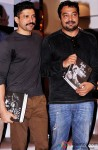 Farhan Akhtar and Anurag Kashyap during the Guru Dutt's Film Screenplays Launch