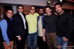 Vidhu Vinod Chopra, Dibakar Banerjee, Farhan Akhtar and Anurag Kashyap during the Guru Dutt's Film Screenplays Launch